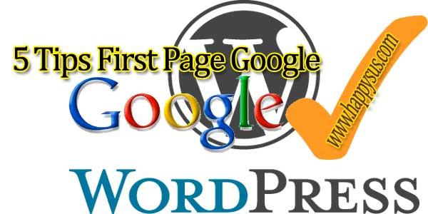 5 Tips First Page Google - 27