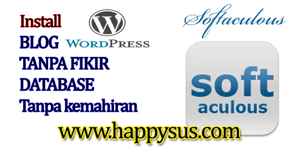 Bina blog Wordpress sendiri guna Softaculous 15