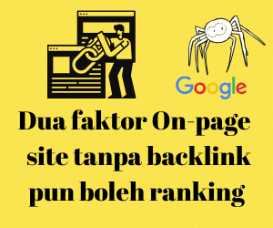 dua faktor backlink